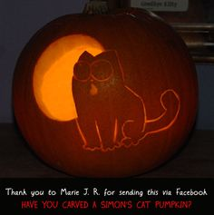 Simon's Cat - Simon's Cat Pumpkin