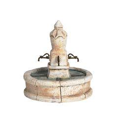 Fontaine ronde - Décor - Puits Fontaines Ponts - Décors de crèche | Santons Escoffier