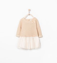 ZARA - KIDS - COMBINED SPARKLY DRESS