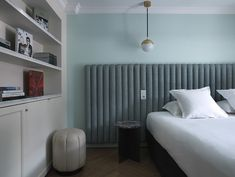Master Bedroom Reference: Hôtel Bachaumont Paris