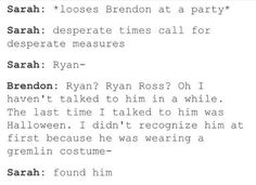 HAHA TRUE EVERYTIME SOMEONE SAYS RYAN OR RYAN ROSS HE REPLIES WITH THIS