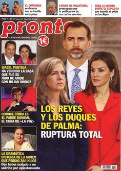 Las portadas de los lunes: ruptura total entre los reyes y los duques de Palma