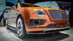 Bentley styling grows up and gets ruggedized into an SUV