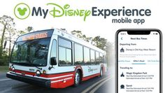 Bus Times at Walt Disney World Resort Now Available in the My Disney Experience App