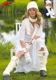 Folklore socks.
