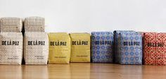 de la paz coffee - varying 'covers'