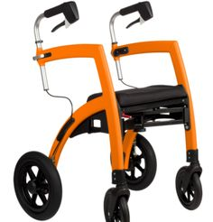 For the modern hip and mobile elderly. This mobility support changes in a wheel chair with a snap of the wrist.