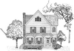 Eplans Victorian House Plan - Compact with Open Spaces - 1803 Square Feet and 3 Bedrooms from Eplans - House Plan Code HWEPL12704