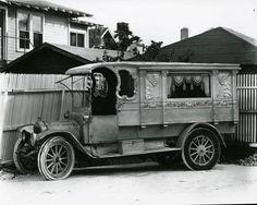 Florida Memory - Philbrick Funeral Home's hearse (1910) - Miami, Florida