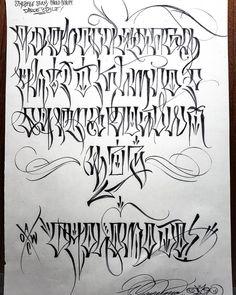 Script Alphabet, Gotisches Alphabet, Tattoo Lettering Alphabet, Images Alphabet, Tattoo Lettering Design, Graffiti Lettering Alphabet, Graffiti Font, Tattoo Script, Script Lettering