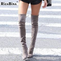 >>>Smart Deals forWomens Stretch Slim Suede Over the Knee Boots Thigh High Boots Sexy Fashion High Heel Boot Shoes Woman Black Grey Size 34-43Womens Stretch Slim Suede Over the Knee Boots Thigh High Boots Sexy Fashion High Heel Boot Shoes Woman Black Grey Size 34-43best recommended for you.Shop the ...Cleck Hot Deals >>> http://id074518239.cloudns.ditchyourip.com/32742720098.html images