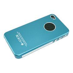 High light Aluminum Case for iPhone 4/4S - Light blue US$9.99