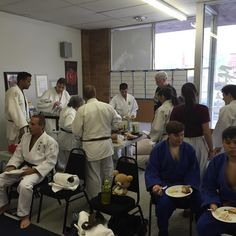 Big turnout today for the #judo kata clinic