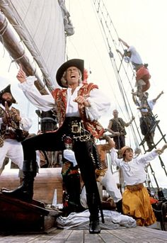 THE PIRATE MOVIE, Ted Hamilton, 1982