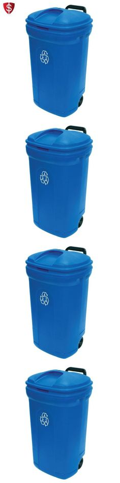 Trash Cans And Wastebaskets Trash Cans And Wastebaskets 20608 Outdoor Patio Hideaway Resin
