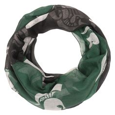 NCAA Forever Collectibles Fashion Scarves Michigan State Spartans, Women's