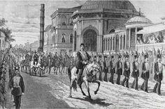 Sultan Abdülhamid Han ın tahta çıkışı