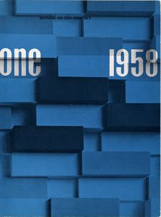 Wim Crouwel – One: annual on the new art, 1958