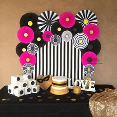 Kate Spade inspired paper fans backdrop is great for any stylish party - baby shower, bridal shower, wedding, Birthday or just to add a splash of colour to your room NOTE: THIS LISTING IS FOR 20 paper fans only! Stripy backdrop and other props are NO Kate Spade Party, Kate Spade Bridal, Paper Flower Backdrop, Paper Flowers, Birthday Party Decorations, Birthday Parties, Paper Fan Decorations, Birthday Balloons, Table Decorations