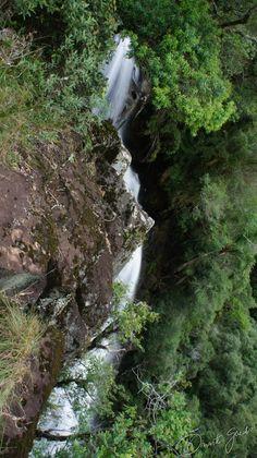 Cachoeira do Barra Grande, interior de Porto União.