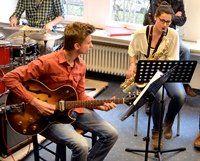 Jazzsschool goes Art – Vernissage im Aubinger Wasserturm