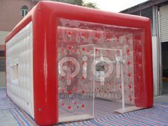 https://flic.kr/p/y6RcFy | Inflatable Wedding Party Tent | Inflatable wedding party tent, It is one kind of romantic tent , made with 0.8mm transparent PVC mixed with 0.6mm white PVC together, and surrounded by red column as an transition, very perfect match! Need one time blow up, then it could be stand for a long time.More Info:http://www.qiqi-toys.com/Tent/Inflatable-Wedding-Party-Tent-1022.html