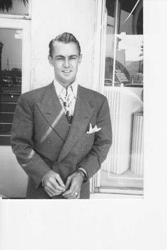 Hair cut men 1940s