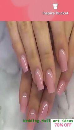 Polygel Nail Kit - Hot Nail Colors And Designs Cute Acrylic Nail Designs, Cute Acrylic Nails, Simple Nail Designs, Acrylic Gel, Nails Yellow, Pink Ombre Nails, Purple Glitter, Pink Purple, Matte Pink
