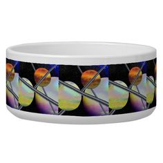 Imagined Worlds Dog Food Bowls from GalacticVisions* - $26.15