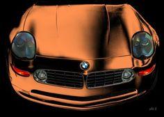 BMW Z8 in black & copper