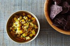 Next Day Grilled Corn, Pineapple, and Peach Salsa Recipe on Food52 recipe on Food52