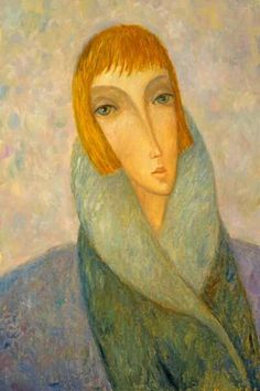 (Russia) by Sergey Smirnov (1953- 2006). Oil on canvas.