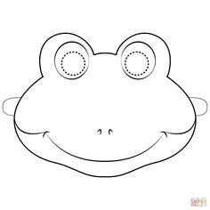 Coloring Pages Frog Mask Page Free Printable Apple Parts Jesus Is Gods Son Letter B Shark Veterans Spring Print For Kids Monster Truck Frankenstein Halloween Frog Coloring Pages, Spring Coloring Pages, Truck Coloring Pages, Fairy Coloring, Animal Masks For Kids, Mask For Kids, Templates Printable Free, Free Printable Coloring Pages, Free Printables