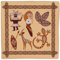 ஜ SOLD on #GraphicRiver! ஜ  ^_^ !!   $4   -    #Africa #Symbolic #Ethnic #Art #Design on #Leather - #Vector  http://graphicriver.net/item/africa-symbolic-ethnic-art-design-on-leather/5435728