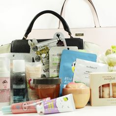 YOU could win a KATE SPADE Designer handbag filled with beauty products from Beauteque! Subscribe for Mask Maven and/or BB Bag by Aug. 5th @ 8 pm with code BAGGIVEAWAY at BeautequeMonthly.com to enter. Good luck!