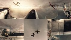 Ever wanted to be a pilot? Check out this fun 360 degree panoramic #interactive #music #video (aka flight simulator) directed by Barzolff for Boys Noize, starring WWII Corsair F4 airplanes.