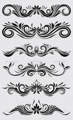 Decorative Ornamental #GraphicRiver Decorative Ornamental, Easy to use. ZIP file included