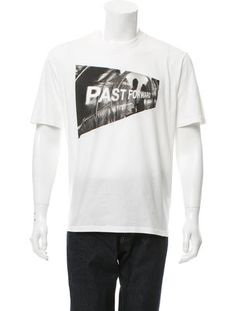 Prada Graphic Crew Neck T-Shirt w/ Tags