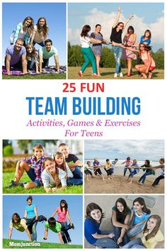 Images Of Team Building Activities For Teens