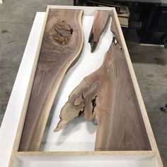 Framed and ready for resin fills. Framed and ready for resin fills. The post Framed and ready for resin fills. appeared first on Woodworking Diy. Furniture Projects, Custom Furniture, Wood Furniture, Wood Projects, Furniture Design, Furniture Stores, Diy Resin Furniture, Project Projects, Furniture Market