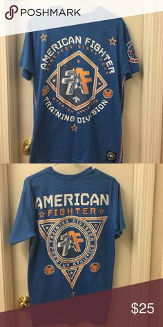 American fighter shirt EUC. No stains holes etc American Fighter Shirts Tees - Short Sleeve