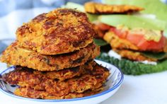 <p>These sweet potato bean burgers are filling, flavorful, and a breeze to make! </p>