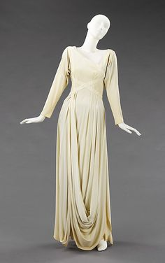 Evening dress, Valentina, ca. 1935