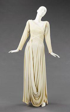 Evening dress, Valentina, ca. 1935