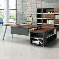 Professional office furniture wholesaler melamine director and managing director tables