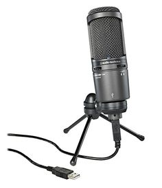 Audio-Technica AT2020USB+ Cardioid Condenser USB Microphone Bundle with Gearlux Pop Filter and Austin Bazaar Polishing Cloth  http://www.instrumentssale.com/audio-technica-at2020usb-cardioid-condenser-usb-microphone-bundle-with-gearlux-pop-filter-and-austin-bazaar-polishing-cloth/