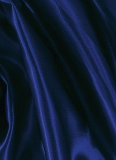 Indigo Navy Crepe Back Satin Fabric - Bridal Fabric by the Yard