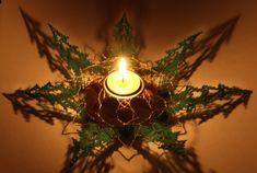 W260 - Foto Sieben Tannen mit Kerze