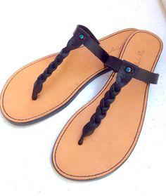 58b78813d96b Handmade Leather Sandal the  Jeanie  by AmberRaeSandals on Etsy Miller  Sandal