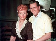 Lucille Ball and Desi Arnaz C. 1952